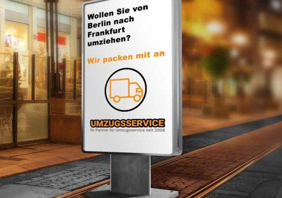 Umzug von Berlin nach Frankfurt
